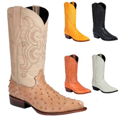 Exotic, Fashion, Leather Boots, Cowboy