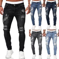streetwearjean, slimfitjean, Fashion, men jeans