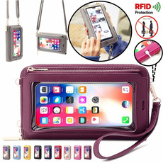 Shoulder Bags, Touch Screen, clutch purse, rfidbag
