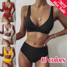 highelasticity, Womens Swimsuit, bikini set, twopiecebikini