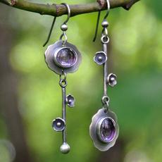 Women, DIAMOND, Dangle Earring, Jewelry