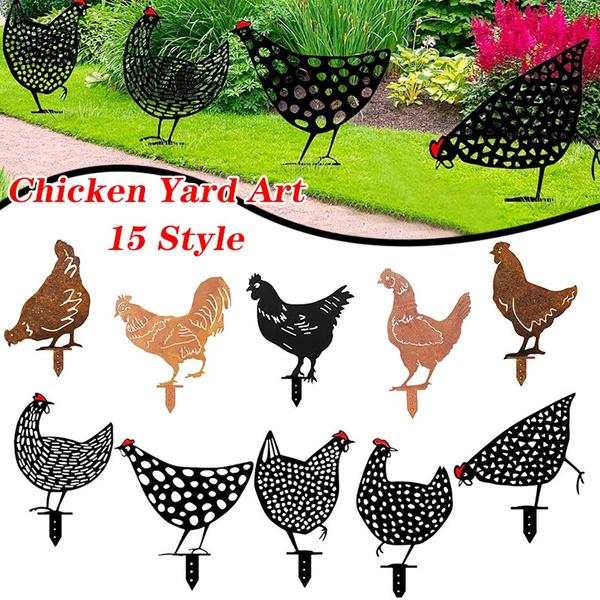 chickenstatue, Decor, Outdoor, art