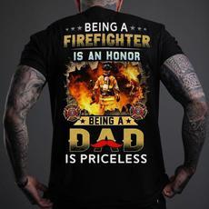 firefighterdadtshirt, Fashion, fathershirt, dadtshirt