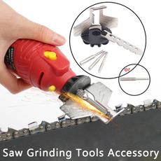 Mini, sawsharpener, Electric, sharpenerguidedrilladapter