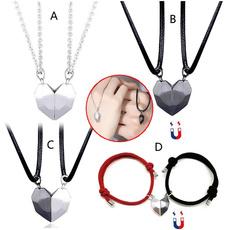Heart, couple necklace, heart pendant, Pendant