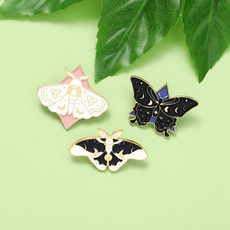 butterfly, Goth, Jewelry, Pins