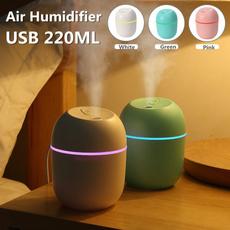 Mini, usbairhumidifier, essentialoildiffuser, usb