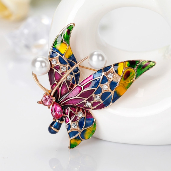 butterfly, Fashion, Jewelry, Pins