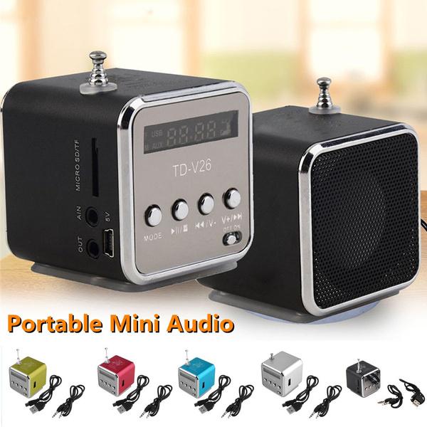 Mini, minifmspeaker, portablemusicspeaker, tfcardradio