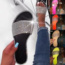 Summer, flatslipper, Jewelry, Sandals & Flip Flops