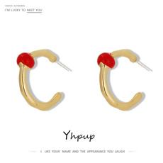 Stud Earring, minimalist, Jewelry, enamel