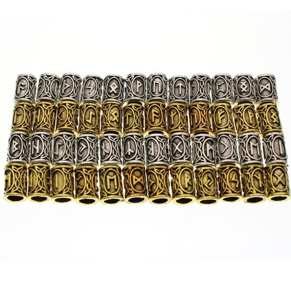 Antique, dreadlockbead, Jewelry, gold