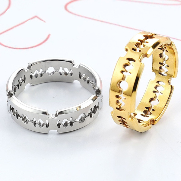 Steel, ringjewely, New arrival, Jewelry
