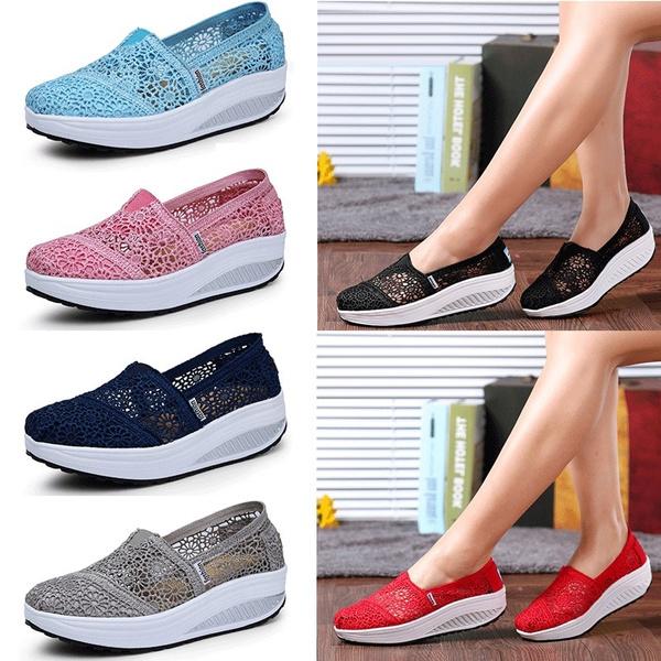 Shoes, softshoe, swingshoe, slimmingwedgesneaker