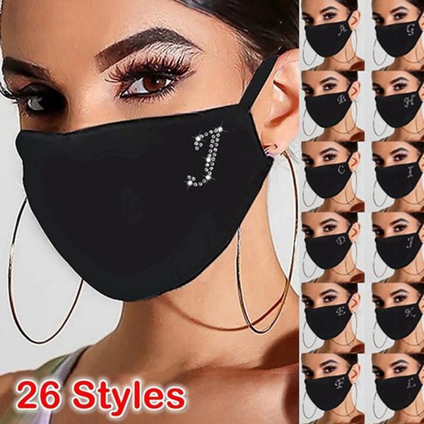 cottonfacemask, Women, DIAMOND, sequinmask