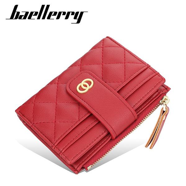 leather wallet, shortwallet, Fashion, women purse