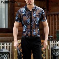 perspectiveshirt, Flowers, Dress Shirt, Shirt