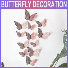 butterfly, refrigeratorsticker, windowsticker, room