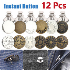 sewingbutton, instantbutton, Adjustable, Waist