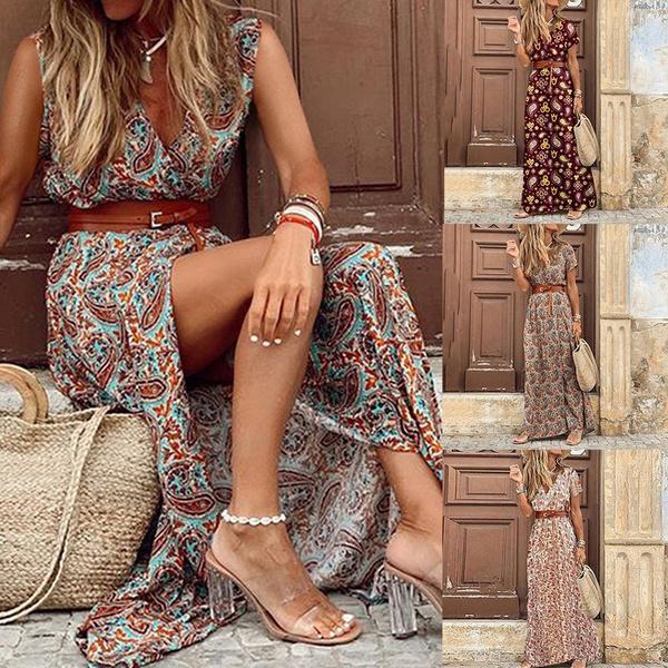 Women's Fashion, Summer, Plus Size, Floral