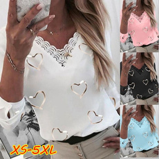 blouse, Heart, Fashion, Lace