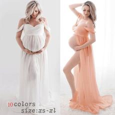 Maternity Dresses, Fashion, Chiffon Dresses, chiffon