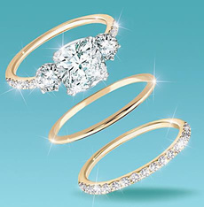 DIAMOND, wedding ring, gold, Simple