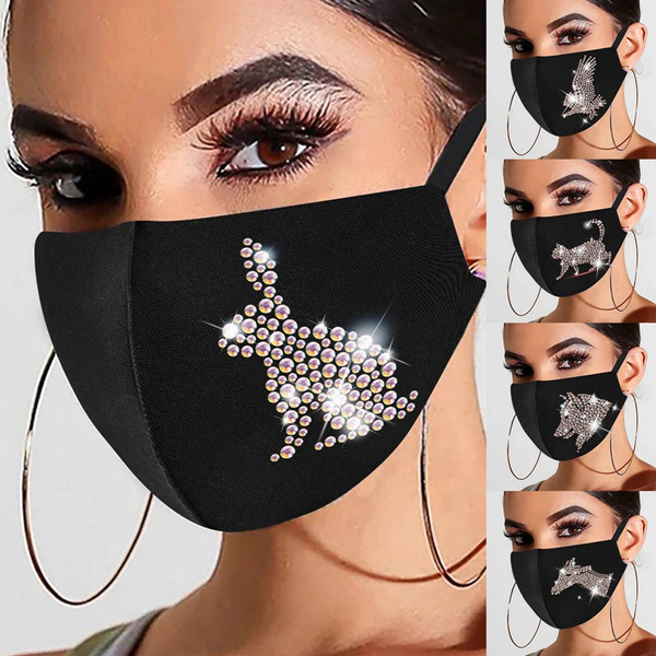 butterfly, animalfacemask, Glitter, rabbit