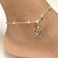 Turtle, Sterling, sterling silver, wishbracelet