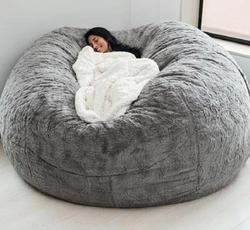 beanbagcover, giant, beanbag, living room