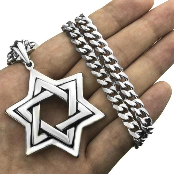 Steel, Stainless Steel, Star, Jewelry