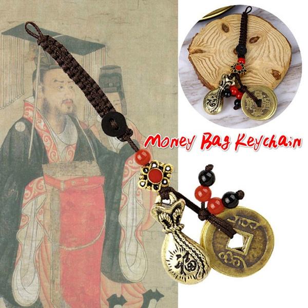 brassmoneybag, Brass, brasskeychain, Key Chain
