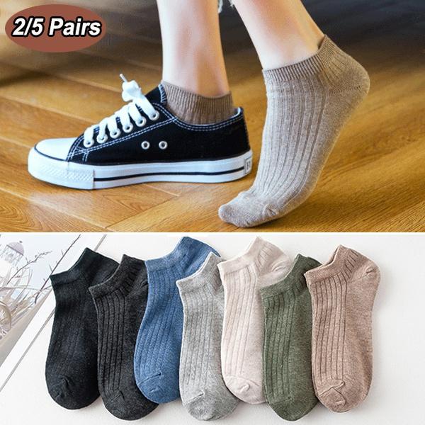 non-slip, boatsock, Cotton Socks, lowcutsock