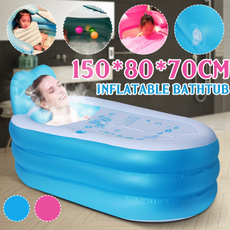 inflatablechildrensbathtub, Fashion, Travel, foldingbathtub