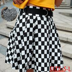 Mini, checkered, Dancing, korean style