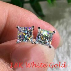 White Gold, Wedding, DIAMOND, Princess