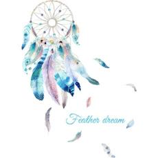 art, Dreamcatcher, Wall, Stickers