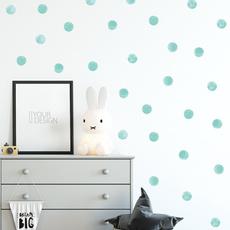 Blues, decoration, Home & Living, polka dot