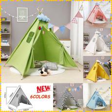 childrenplayhouse, kidsteepee, Outdoor, Triangles