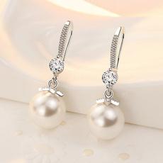 Jewelry, Pearl Earrings, Earring, ladies dress