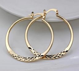 Hoop Earring, jewelry fashion, Jewelry, gold
