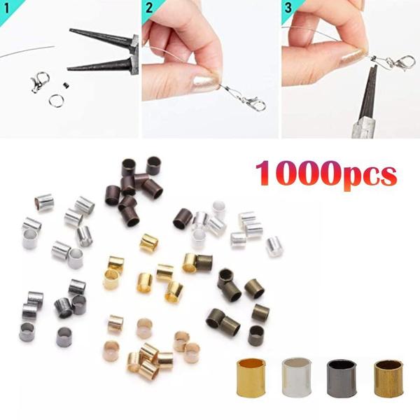 endbead, platinum, beadscordendcap, Jewelry Making