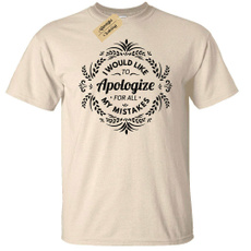 disculpa, para, would, camiseta