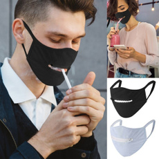zippermask, dustproofmask, mouthmask, Masks