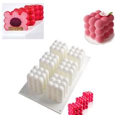 rubikscube, bubble, Silicone, cake mold