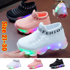 casual shoes, led, Casual Sneakers, Athletics