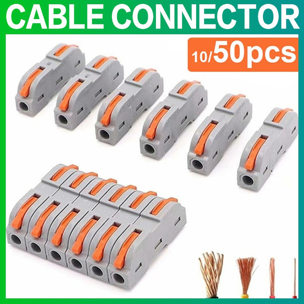 electriccable, springlever, reusablewireconnector, quickwireconnector