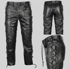 Goth, Plus Size, puleatherpant, pants