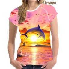 Summer, Short Sleeve T-Shirt, Necks, Sleeve