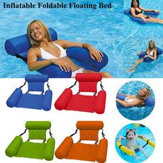 Summer, waterhammock, floatingbed, beachpoolfloat